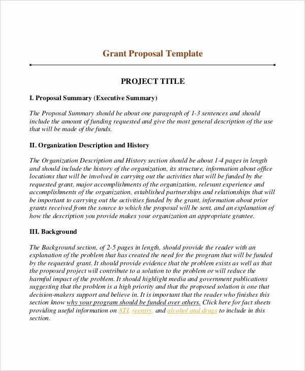 Written Proposal Examples Best Of 10 Writing Templates Free Sample Example format