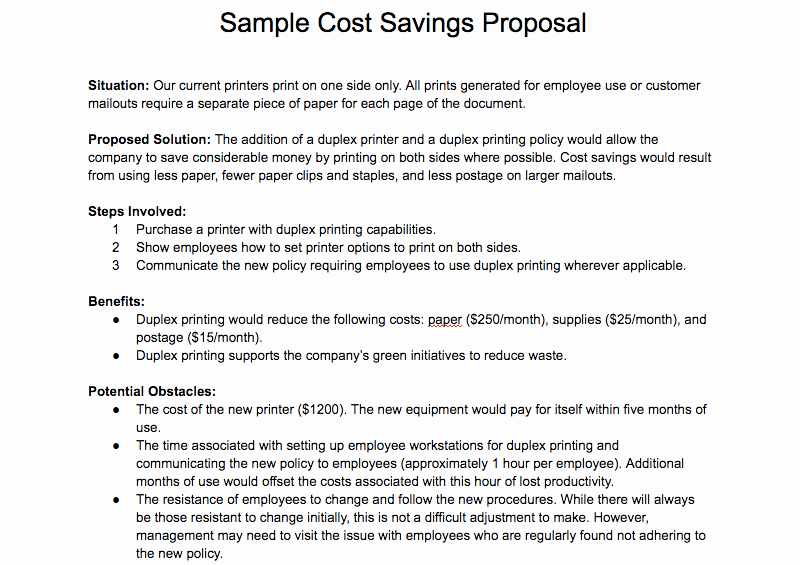 Written Proposal Examples Best Of How to Write A Proposal and Get What You Want Free