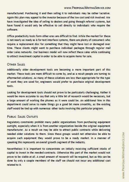 Written Proposal Examples Elegant Free Project Proposal Sample