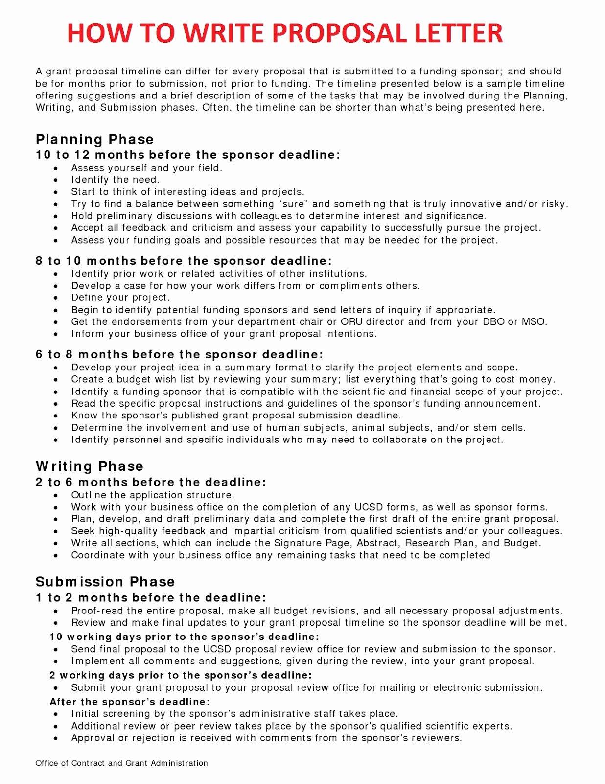 Written Proposal Examples Inspirational Business Letter Sample November 2012