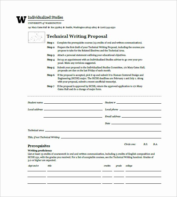 Written Proposal Examples Inspirational Writing Proposal Template 21 Free Word Excel Pdf