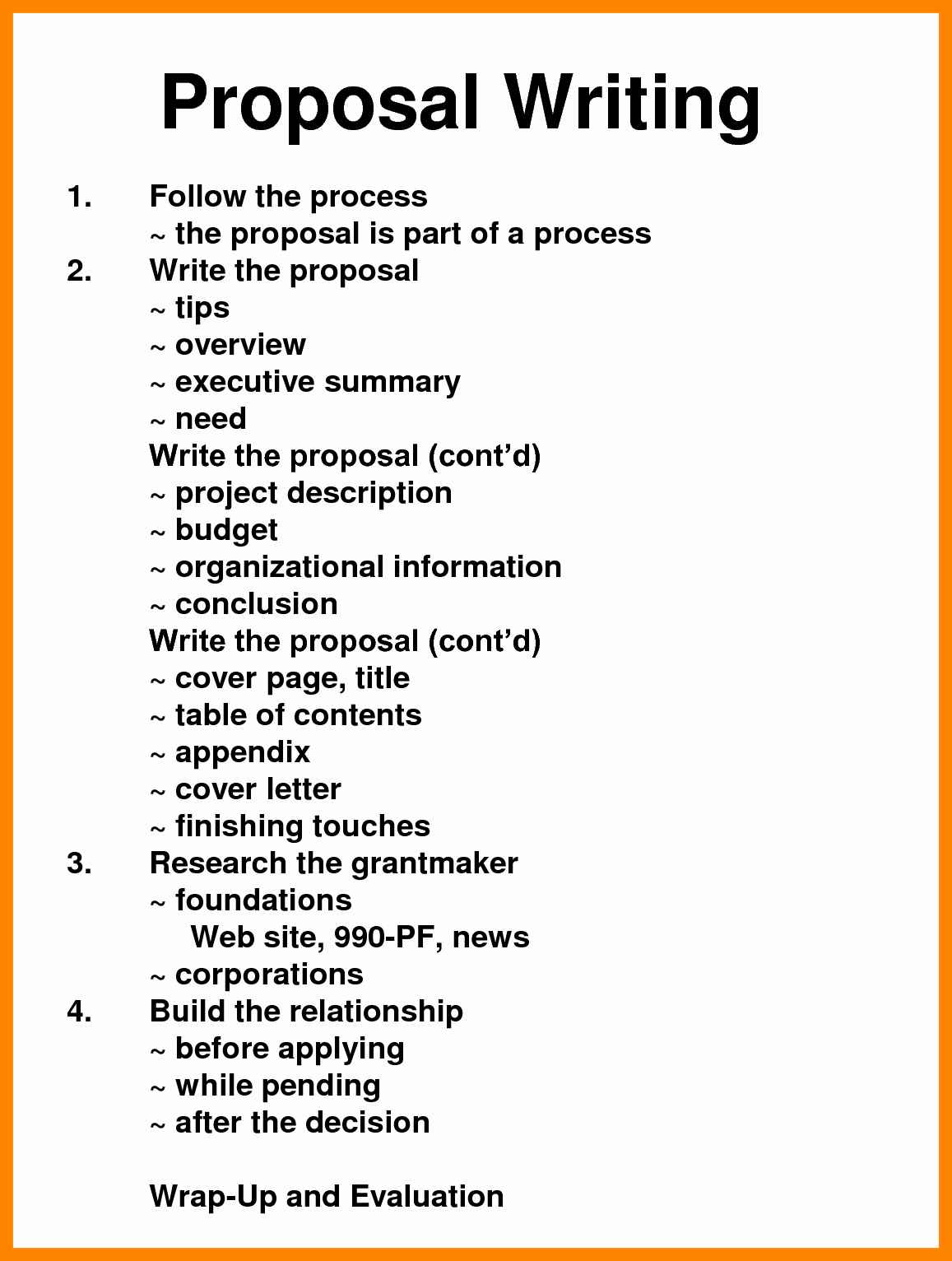 Written Proposal Examples Lovely Writing A Proposal