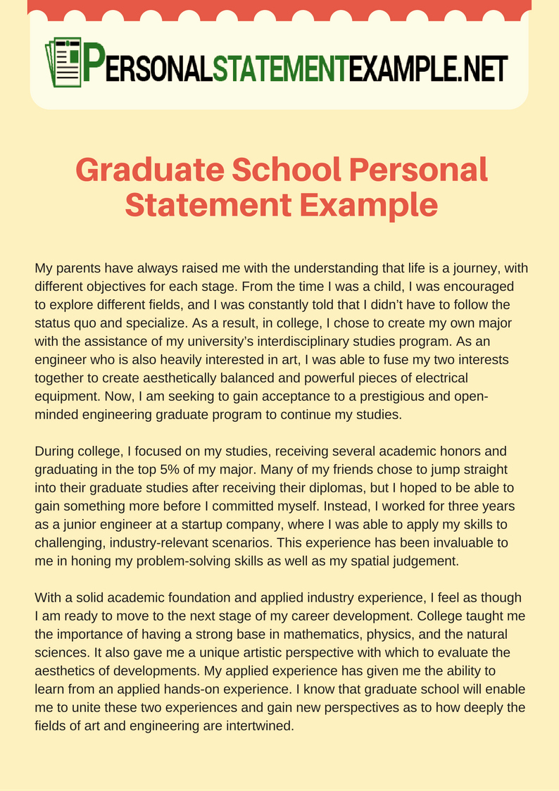 Written Statement Example Best Of Essay 7 Facilitating Interdisciplinary Education and