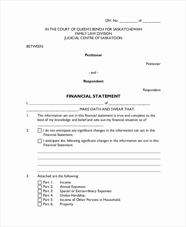 Written Statement Templates Inspirational Legal Statement Template 11 Free Word Pdf Document