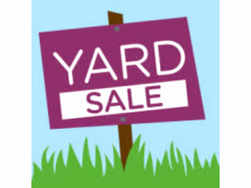 Yard Of the Month Sign Template Elegant townwide Yard Sale is Next Month
