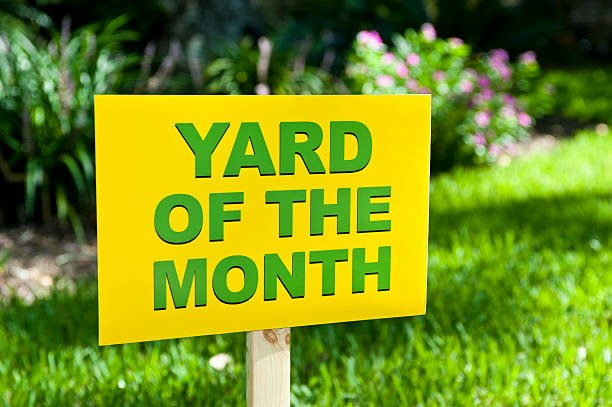 Yard Of the Month Sign Template Fresh Royalty Free Lawn Sign and Stock S