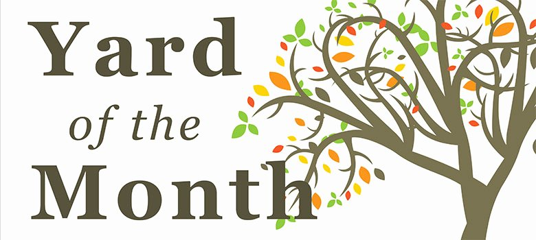 Yard Of the Month Sign Template Lovely Yard Of the Month Highland Park Neighborhood association