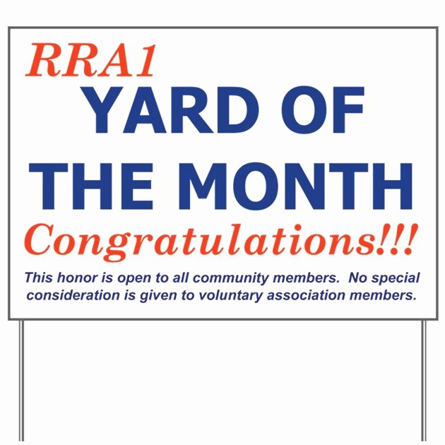 Yard Of the Month Sign Template Luxury Rra1 Yard Of the Month Sign by Cmilk