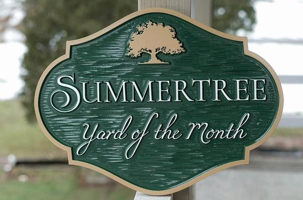 Yard Of the Month Sign Template Luxury Yard Of the Month Sign for Neighborhood with Image – the
