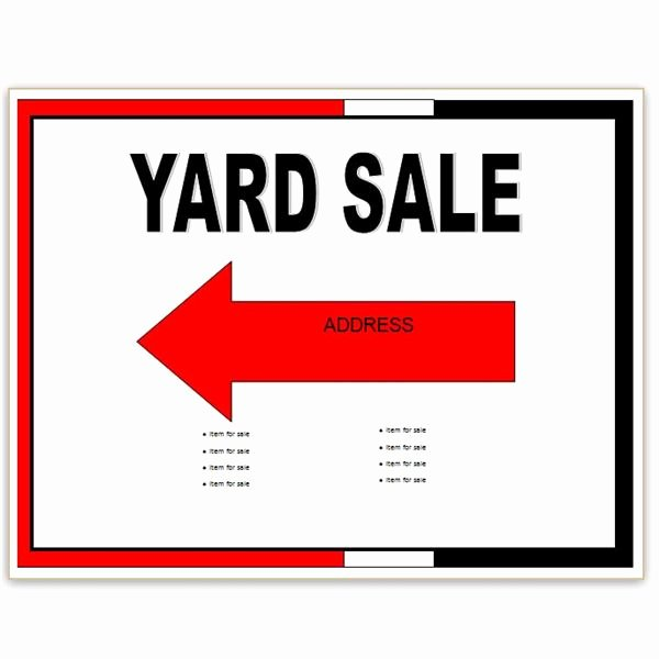 Yard Sale Template Microsoft Word Awesome Find Free Flyer Templates for Word 10 Excellent Options