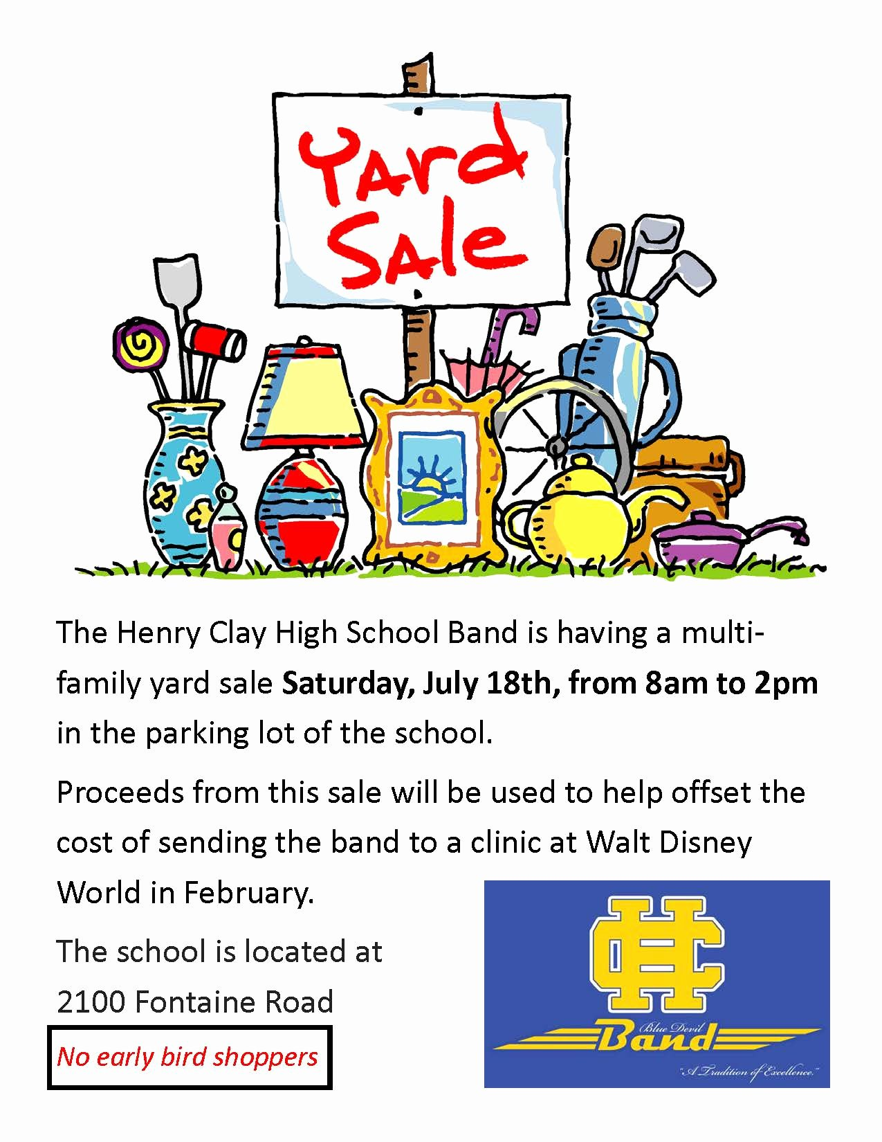 Yard Sale Template Microsoft Word Awesome Yard Sale Flyers Free Download 40 High School Diploma
