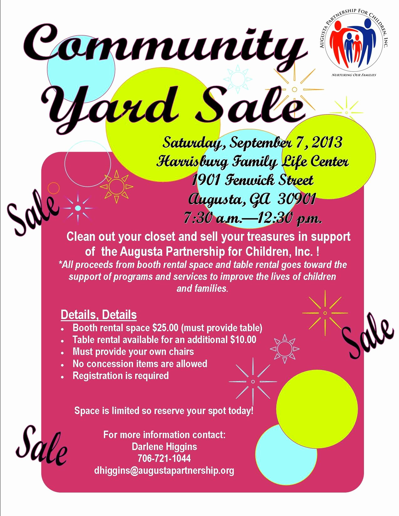 Yard Sale Template Microsoft Word Elegant Up Ing events Munity Yard Sale
