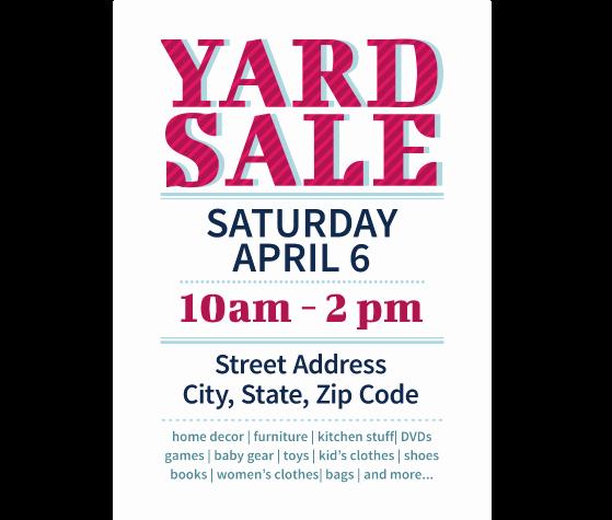 Yard Sale Template Microsoft Word Fresh Yard Sale Template Microsoft Word Templates Station