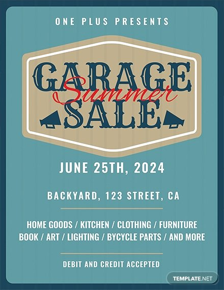 Yard Sale Template Microsoft Word Inspirational Free Printable Garage Sale Flyer Template Download 681