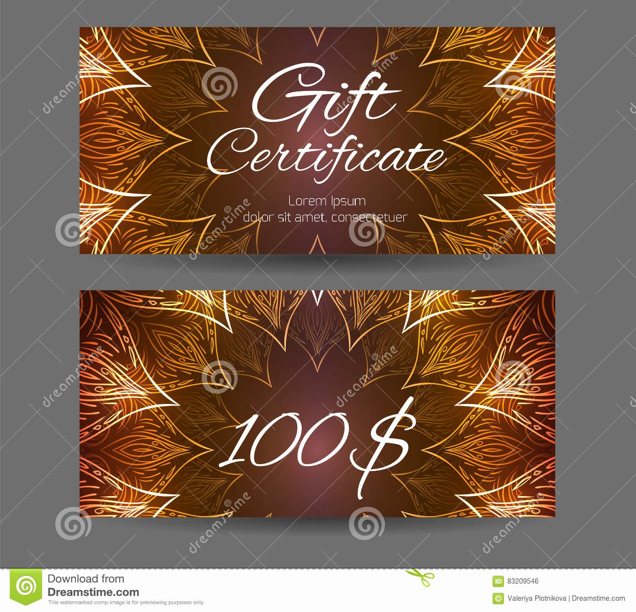 Yoga Gift Certificate Template Free Luxury Template Gift Certificate for Yoga Studio Spa Center