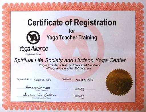 Yoga Teacher Training Certificate Template Beautiful Yoga Certificate Template