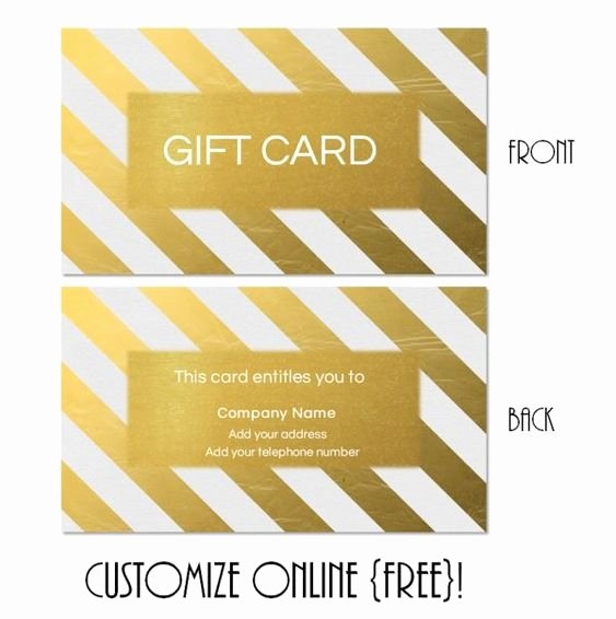 Younique Gift Certificate Template Best Of Free Printable T Card Templates that Can Be Customized