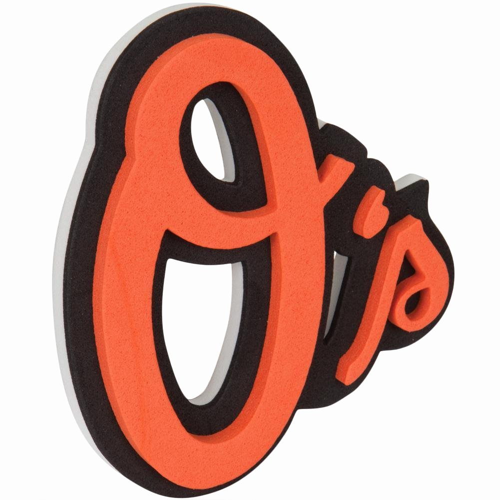 Zombie Prom Math Game Awesome Baltimore orioles Logo 3d Foam Sticker – Oldglory