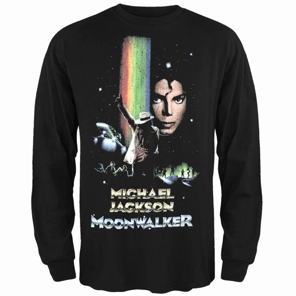 Zombie Prom Math Game Beautiful Michael Jackson Moonwalker Long Sleeve T Shirt